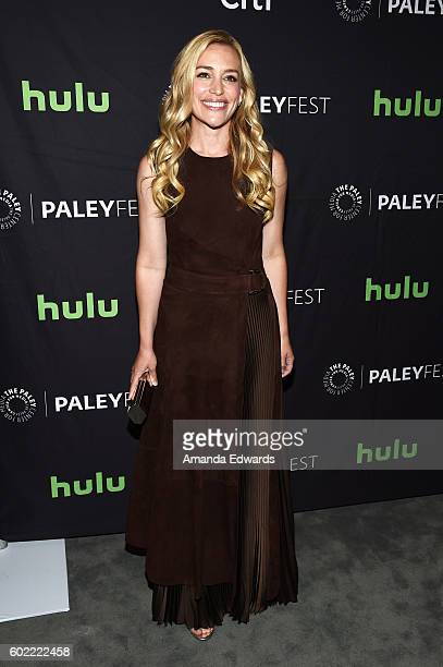 2137a575f2 Actress Piper Perabo arrives at The Paley Center for Media s PaleyFest 2016 Fall  TV Preview for