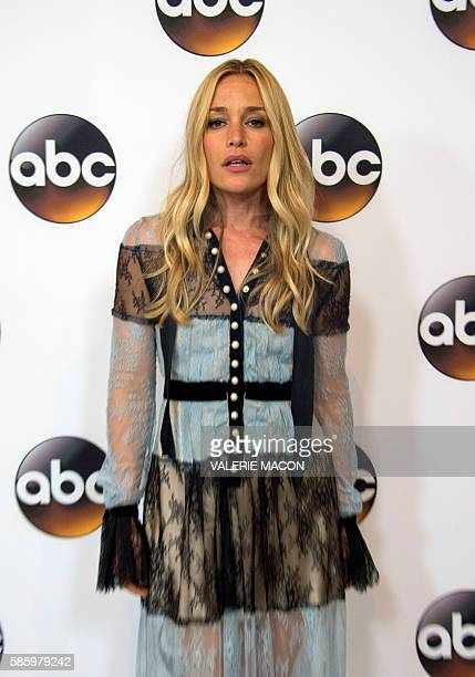 Actress Piper Perabo attends The 2016 Disney ABC Television Group TCA Summer Press Tour in Beverly Hills California on August 4 2016 / AFP / VALERIE...