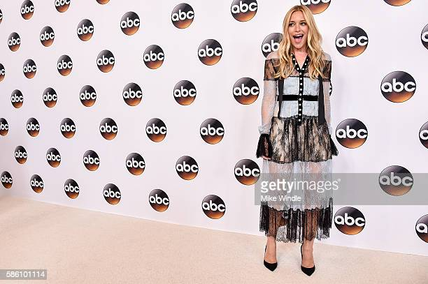 Actress Piper Perabo attends the Disney ABC Television Group TCA Summer Press Tour on August 4 2016 in Beverly Hills California