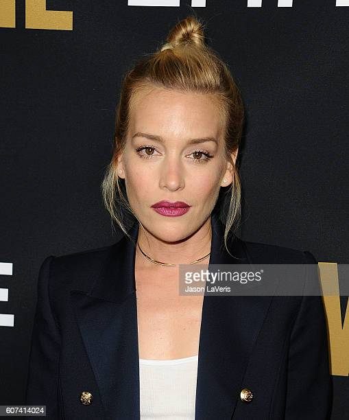 Actress Piper Perabo attends the Showtime Emmy eve party at Sunset Tower on September 17 2016 in West Hollywood California