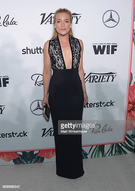 Actress Piper Perabo attends Variety and Women in Film's PreEmmy Celebration at Gracias Madre on September 16 2016 in West Hollywood California