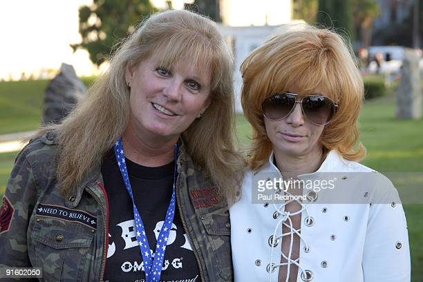 Actress PJ Soles and Linda Ramone attend the 5th Annual Johnny Ramone Tribute on October 3 2009 in Hollywood California