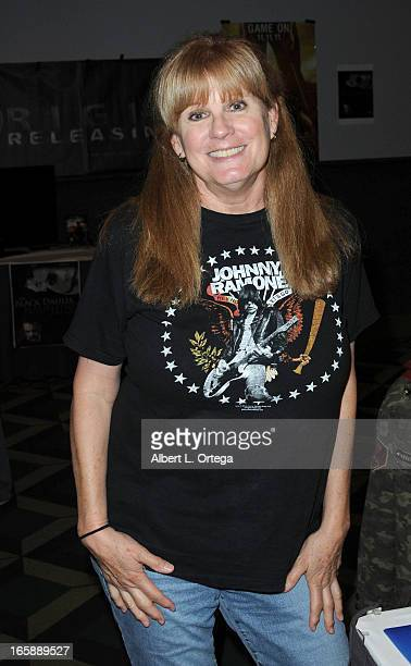 Actress PJ Soles attends Los Angeles' Days Of The Dead Convention Day Two held at Los Angeles Convention Center on April 6 2013 in Los Angeles...