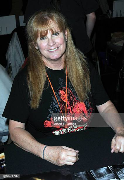Actress PJ Soles attends the Hollywood Show held at Burbank Airport Marriott on February 11 2012 in Burbank California