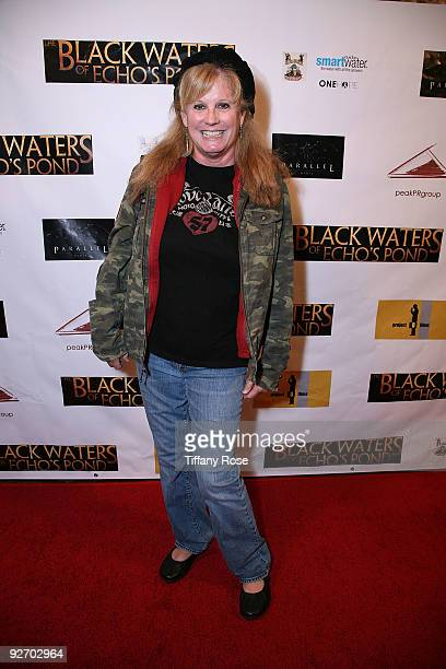 Actress PJ Soles attends the premiere of The Black Waters of Echo's Pond at Laemmle Theatre on November 3 2009 in Santa Monica California