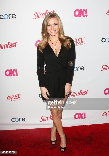 Actress / Playboy Playmate Nikki Leigh attends OK Magazine's preGRAMMY event at Avalon Hollywood on February 9 2017 in Los Angeles California