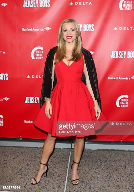Actress / Playboy Playmate Nikki Leigh attends the opening night of 'Jersey Boys' at the Ahmanson Theatre on May 18 2017 in Los Angeles California