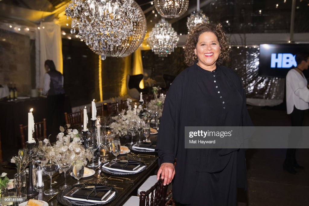 "HBO's ""Notes from the Field"" Sundance Dinner"