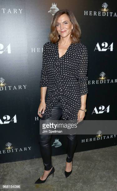 Actress Polly Draper attends the screening of Hereditary hosted by A24 at Metrograph on June 5 2018 in New York City