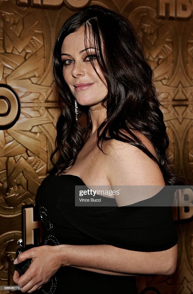 Actress Polly Walker arrives at the HBO Golden Globe after party held at the Beverly Hilton on January 16, 2006 in Beverly Hills, California.