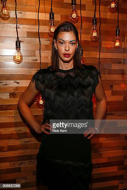 Actress Pollyanna McIntosh attends SundanceTVs 'Hap And Leonard' Screening on January 25 2016 in Park City Utah