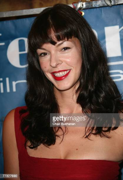 Actress Pollyanna McIntosh attends the 3rd Annual LA Femme Film Festival closing night at the Fine Arts Theatre on October 14 2007 in Beverly Hills...