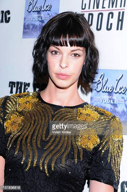 Actress Pollyanna McIntosh attends 'The Critic' Official Wrap Party at W Hollywood on May 26 2011 in Hollywood California