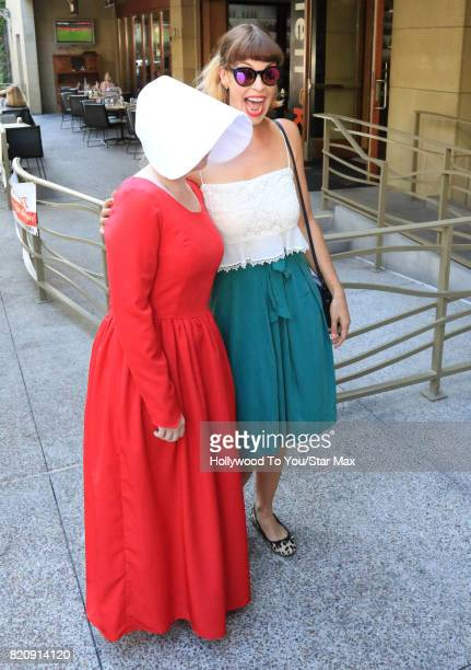 Actress Pollyanna McIntosh is seen on July 21 2017 at Comic Con in San Diego CA