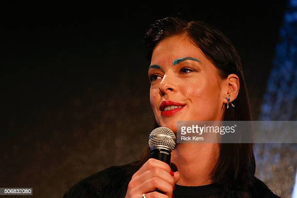 Actress Pollyanna McIntosh participates in a QA following SundanceTVs 'Hap And Leonard' Screening on January 25 2016 in Park City Utah