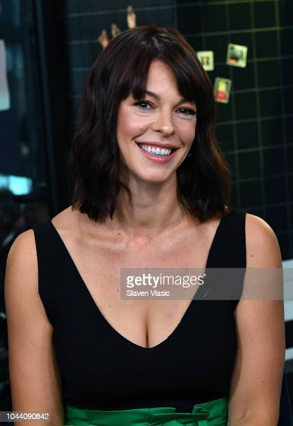 Actress Pollyanna McIntosh visits Build Brunch to discuss The Walking Dead at Build Studio on October 1 2018 in New York City
