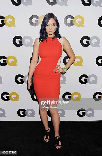 Actress Pom Klementieff arrives at the 2013 GQ Men Of The Year Party at The Ebell of Los Angeles on November 12 2013 in Los Angeles California