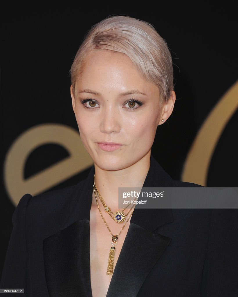 Actress Pom Klementieff arrives at the Panthere De Cartier Party In LA at Milk Studios on May 5, 2017 in Los Angeles, California.