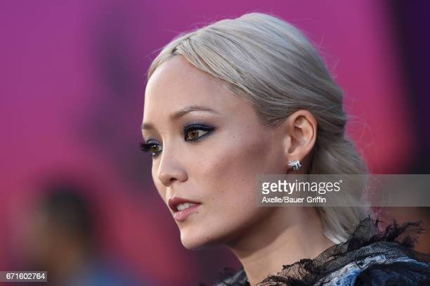 Actress Pom Klementieff arrives at the premiere of Disney and Marvel's 'Guardians of the Galaxy Vol. 2' at Dolby Theatre on April 19, 2017 in...