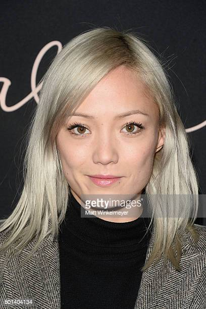 Actress Pom Klementieff arrives at the special screening of Paramount Pictures' Anomalisa at the Egyptian Theatre on December 14 2015 in Hollywood...
