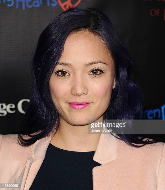 Actress Pom Klementieff attends the August Osage County benefit screening at the Landmark Theater on December 5 2013 in Los Angeles California