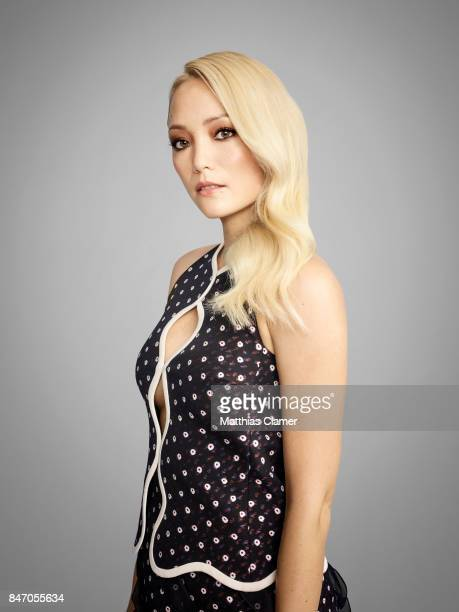 Actress Pom Klementieff from 'Guardians of the Galaxy Vol 2' is photographed for Entertainment Weekly Magazine on July 23 2016 at Comic Con in the...