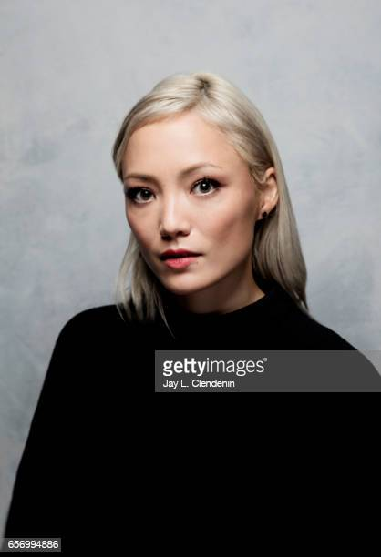 Actress Pom Klementieff from the film Ingrid Goes West is photographed at the 2017 Sundance Film Festival for Los Angeles Times on January 21 2017 in...