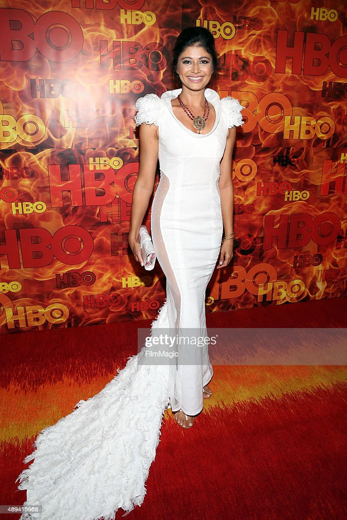 Actress Pooja Batra attends HBO's Official 2015 Emmy After Party at The Plaza at the Pacific Design Center on September 20, 2015 in Los Angeles, California.