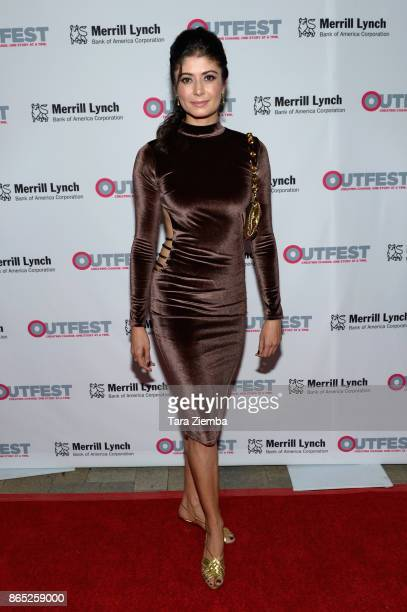 Actress Pooja Batra attends the 13th Annual Outfest Legacy Awards at Vibiana on October 22 2017 in Los Angeles California