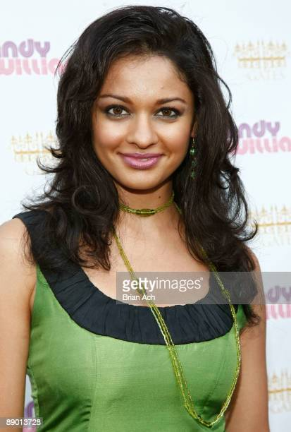 Actress Pooja Kumar attends The Wendy Williams Show Launch Party at The Gates on July 13 2009 in New York City