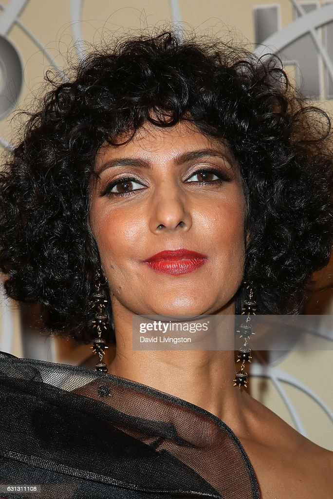 Actress Poorna Jagannathan arrives at HBO's Official Golden Globe Awards after party at the Circa 55 Restaurant on January 8, 2017 in Los Angeles, California.