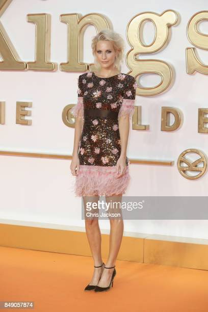 Actress Poppy Delevingne attends the 'Kingsman The Golden Circle' World Premiere held at Odeon Leicester Square on September 18 2017 in London England