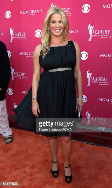 ACCESS*** Actress Poppy Montgomery arrives at the 43rd annual Academy Of Country Music Awards held at the MGM Grand Garden Arena on May 18 2008 in...