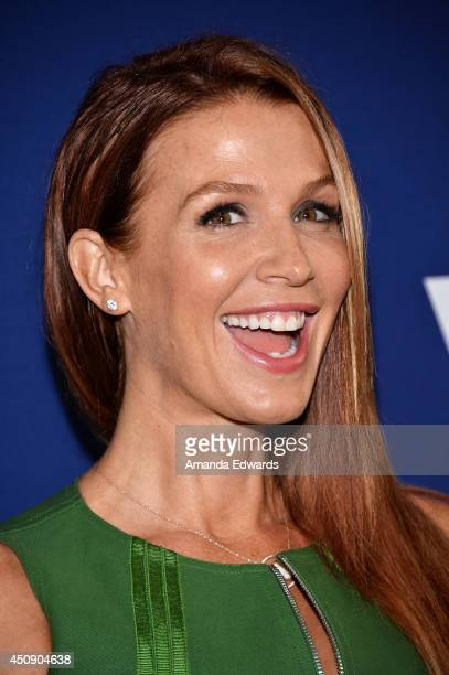 Actress Poppy Montgomery arrives at the WeTV and The Paley Center for Media presentation of On The Beat The Evolution Of The Crime Drama Heroine at...