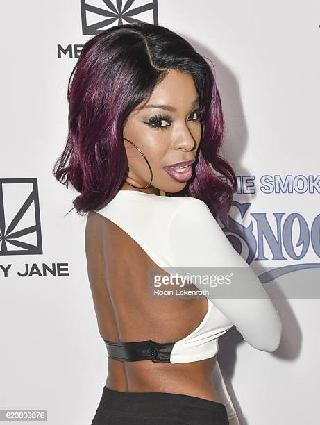 Actress Porscha Coleman attends Fusion's All Def Roast The Smoked Out Roast of Snoop Dogg at Avalon Hollywood on November 16 2016 in Los Angeles...