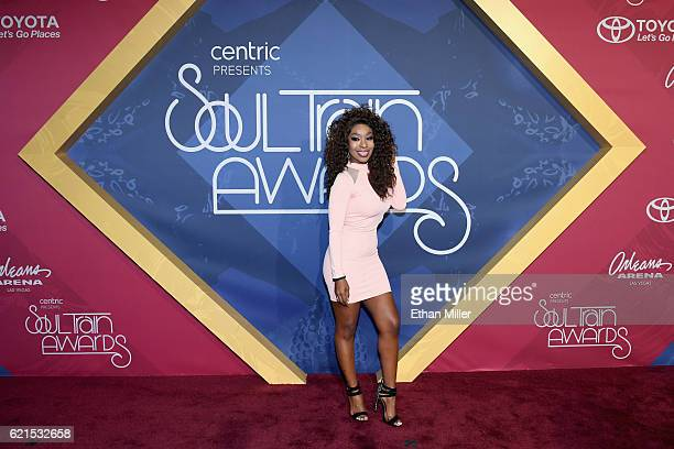 Actress Porscha Coleman attends the 2016 Soul Train Music Awards at the Orleans Arena on November 6 2016 in Las Vegas Nevada