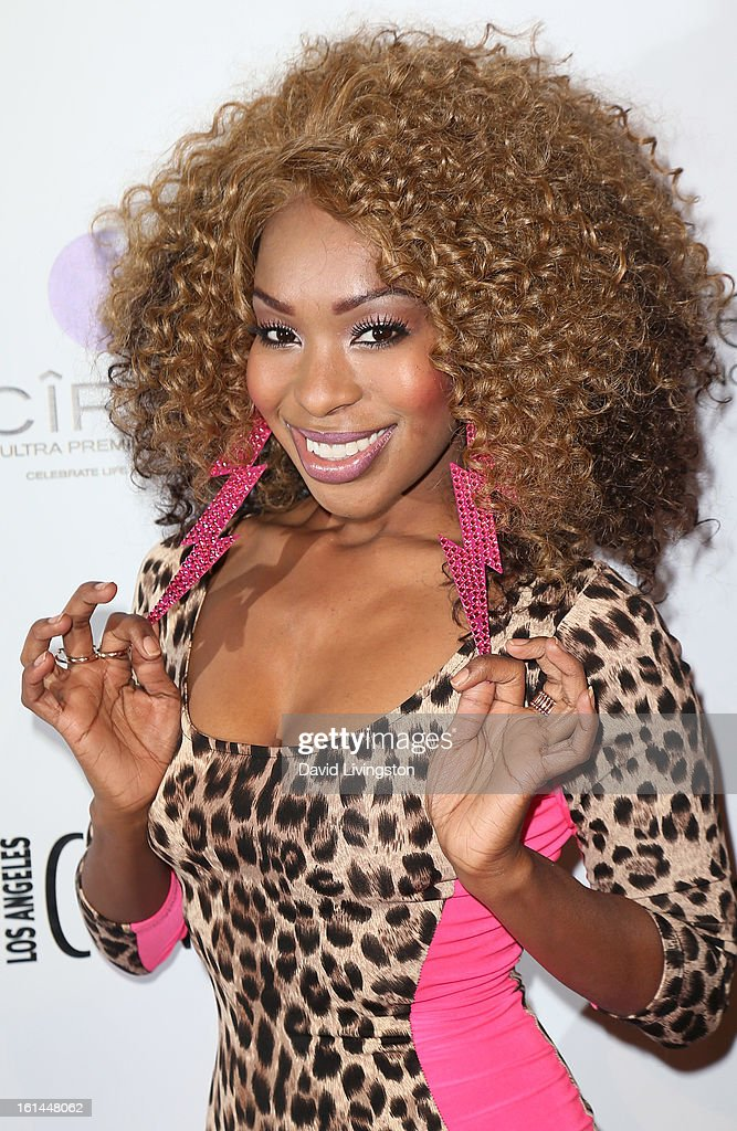 Actress Porscha Coleman attends the Los Angeles Confidential Magazine and Mary J. Blige celebration of the GRAMMY Awards at Elevate Lounge on February 10, 2013 in Los Angeles, California.