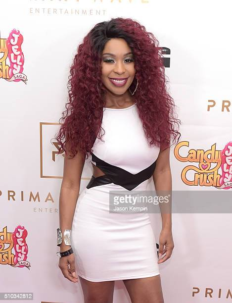 Actress Porscha Coleman attends the Primary Wave 10th Annual Pre-Grammy Party at The London West Hollywood on February 14, 2016 in West Hollywood,...