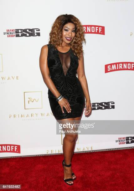 Actress Porscha Coleman attends the Primary Wave 11th annual preGRAMMY party at The London West Hollywood on February 11 2017 in West Hollywood...