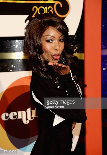 Actress Porscha Coleman attends the Soul Train Awards 2013 at the Orleans Arena on November 8 2013 in Las Vegas Nevada