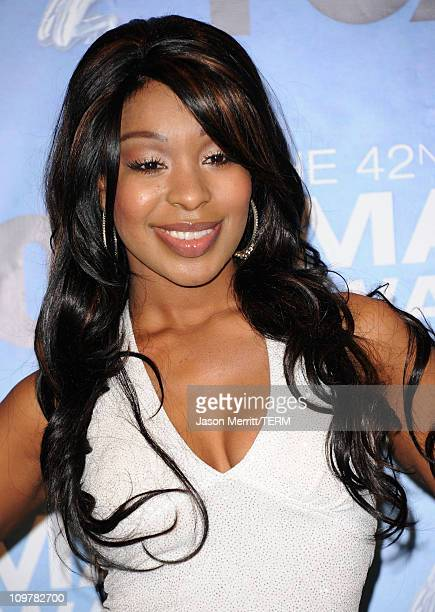Actress Porscha Colman poses in the press room at the 42nd NAACP Image Awards held at The Shrine Auditorium on March 4 2011 in Los Angeles California