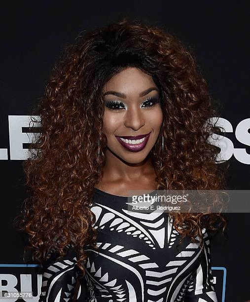 Actress Porscha Lee Coleman attends the Premiere of Open Road Films' Sleepless at Regal LA Live Stadium 14 on January 5 2017 in Los Angeles California