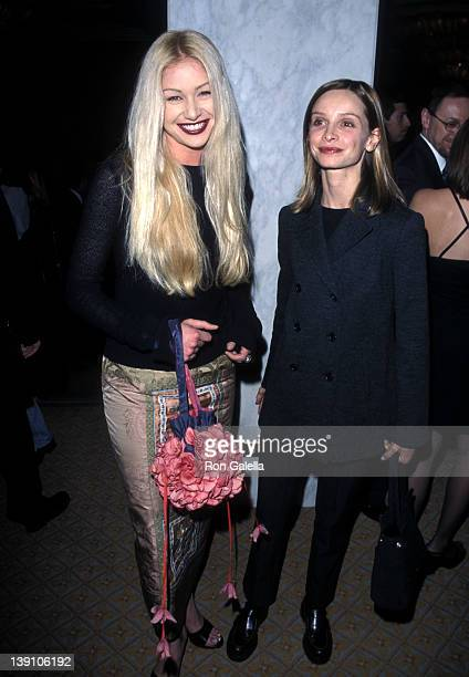 Actress Portia de Rossi and actress Calista Flockhart attend the Tourette Syndrome Association's Second Annual Awards Dinner Salute to Cuba Gooding...