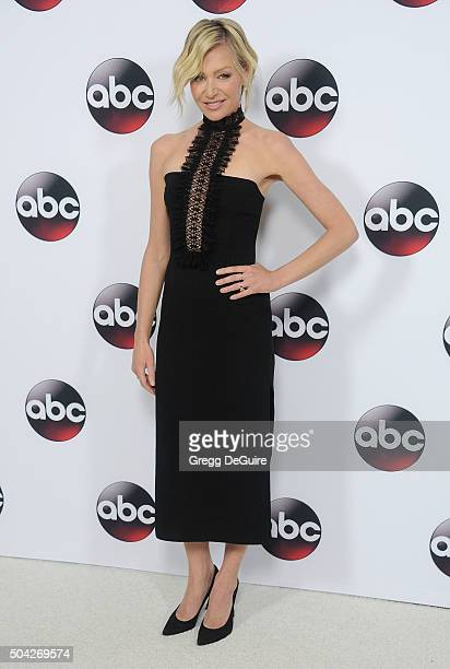 Actress Portia de Rossi arrives at the 2016 Winter TCA Tour - Disney/ABC at Langham Hotel on January 9, 2016 in Pasadena, California.