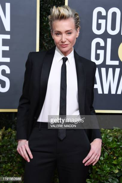 US actress Portia de Rossi arrives for the 77th annual Golden Globe Awards on January 5 at The Beverly Hilton hotel in Beverly Hills California