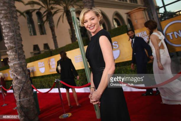 Actress Portia de Rossi attends 20th Annual Screen Actors Guild Awards at The Shrine Auditorium on January 18 2014 in Los Angeles California