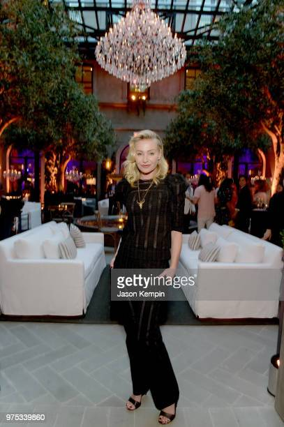 Actress Portia de Rossi attends Restoration Hardware's unveiling at The Gallery at Green Hills at RH on June 14 2018 in Nashville Tennessee