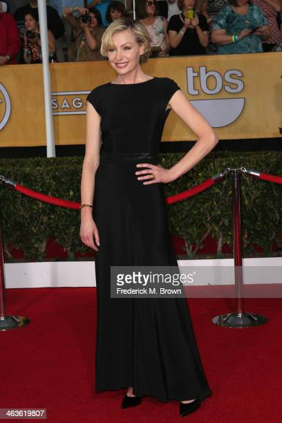Actress Portia de Rossi attends the 20th Annual Screen Actors Guild Awards at The Shrine Auditorium on January 18 2014 in Los Angeles California