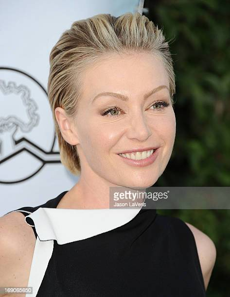 Actress Portia de Rossi attends the 6th annual Compton Jr Posse gala at Los Angeles Equestrian Center on May 18 2013 in Los Angeles California