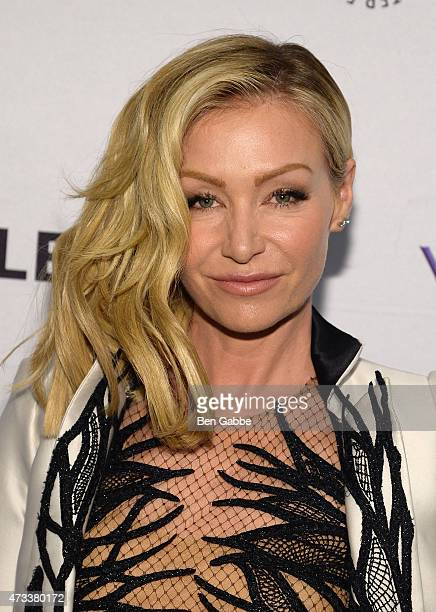 Actress Portia de Rossi attends The Paley Center For Media presents an evening with the cast of 'Scandal' at Paley Center For Media on May 14 2015 in...